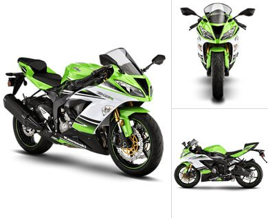 Kawasaki ZX-6R Price in India, ZX-6R Mileage, Images