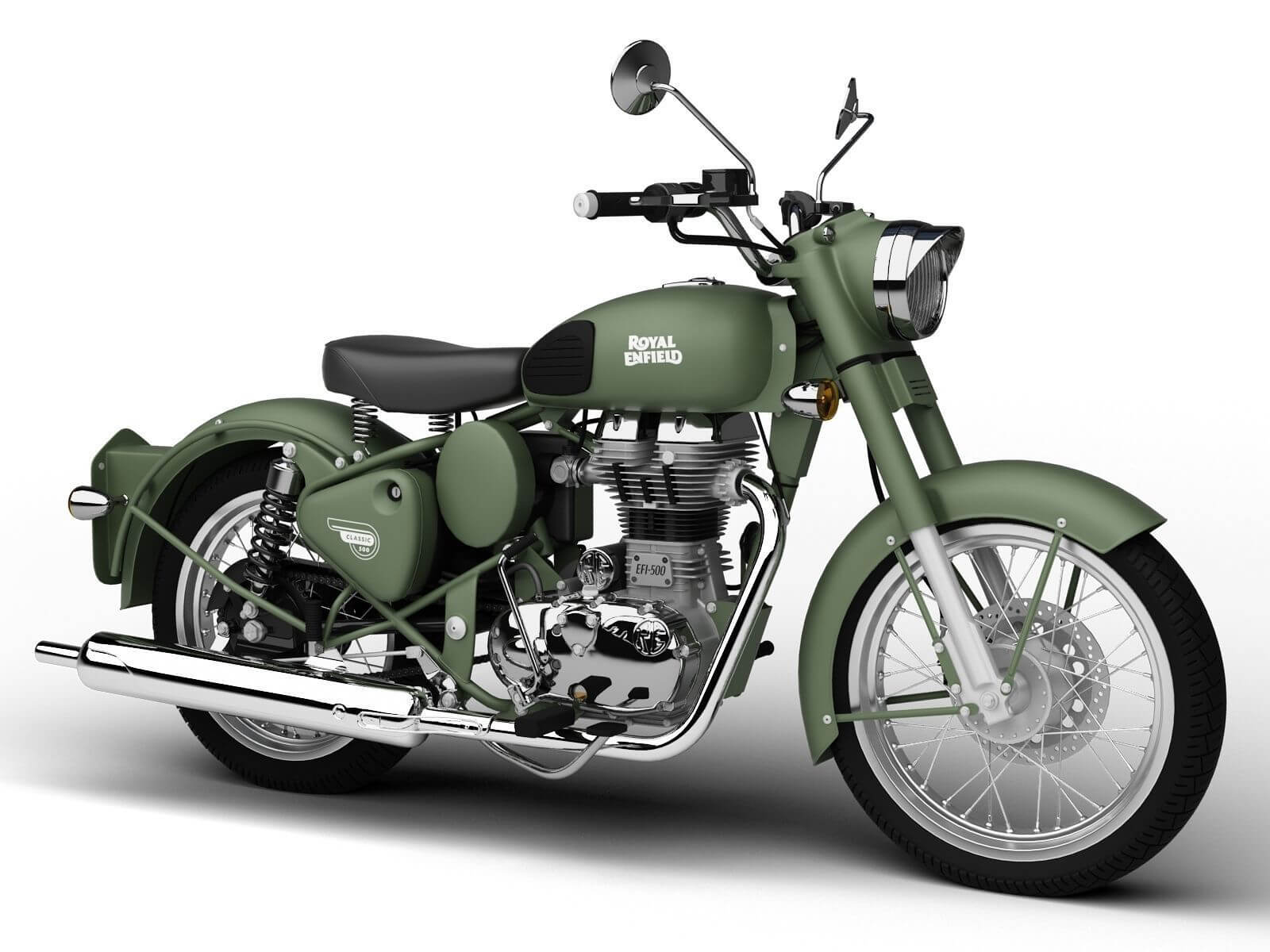 Royal Enfield Classic Battle Green Price in India, Classic Battle ...