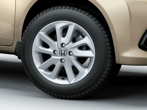 10-Spoke Alloy Wheels