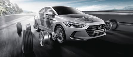 Hyundai Elantra Performance and Handling