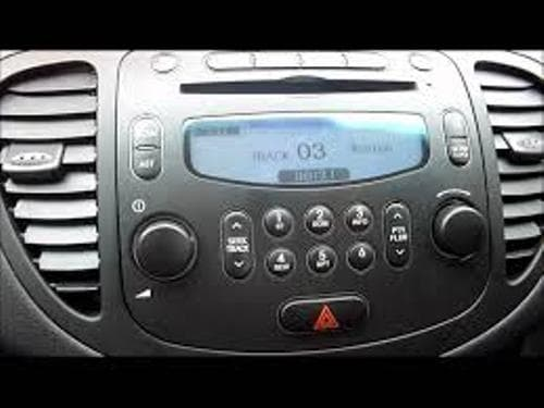 2 DIN Radio+CD+MP3 Audio