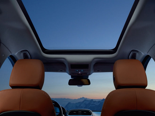 Sliding Panoramic Roof