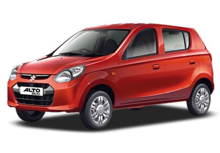 From The Side This Car Looks Like A Typical Maruti Suzuki With Flared Arches And Noticeable Straight Shoulder Line