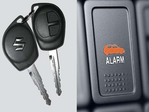 Central Locking With Alarm