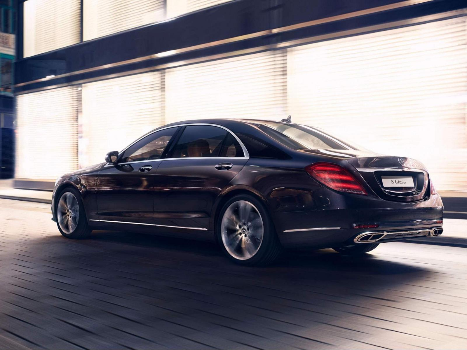 Mercedes Benz S Class Wallpapers Free Download