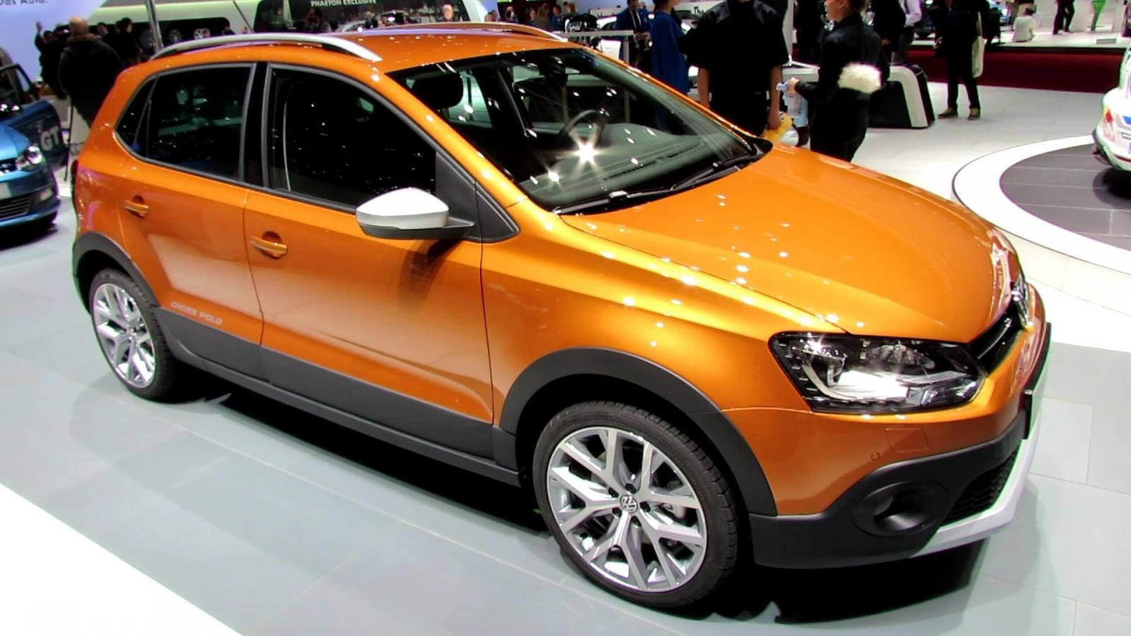 volkswagen cross polo wallpapers free download. Black Bedroom Furniture Sets. Home Design Ideas