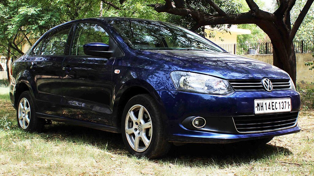 How Does The Updated Version Of Volkswagen Vento Look On The Road Question For Volkswagen Vento 2015 2019 Autoportal Com