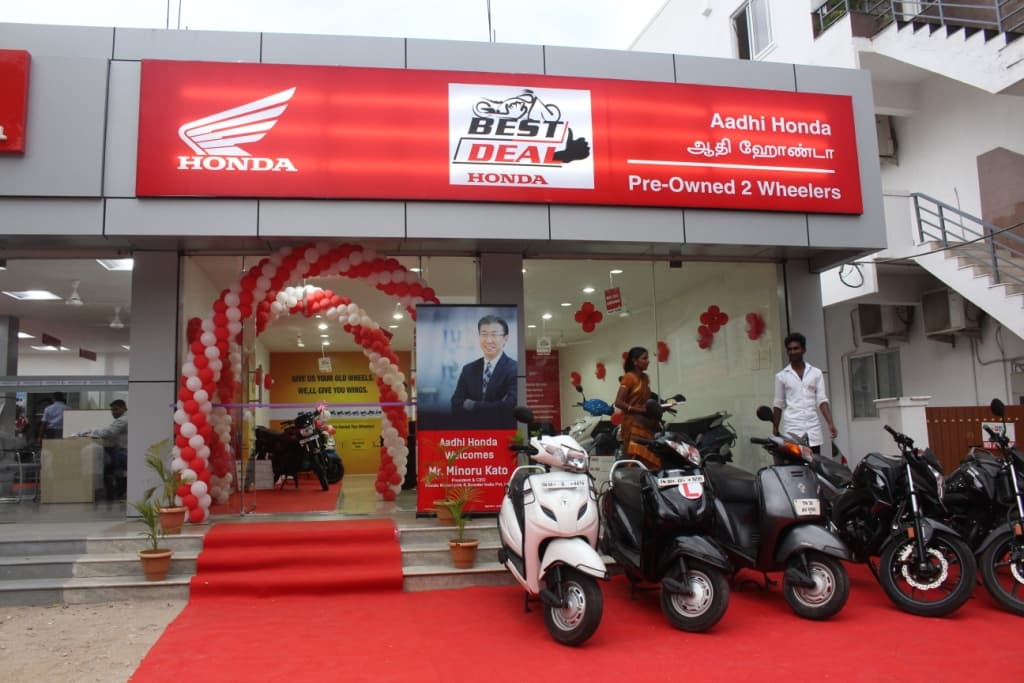 Honda Sees Good Future Potential In Pre Owned Two Wheeler Business And Has Advanced Its Expansion Horizon To 200 Best Deal Outlets By The End Of This Fiscal