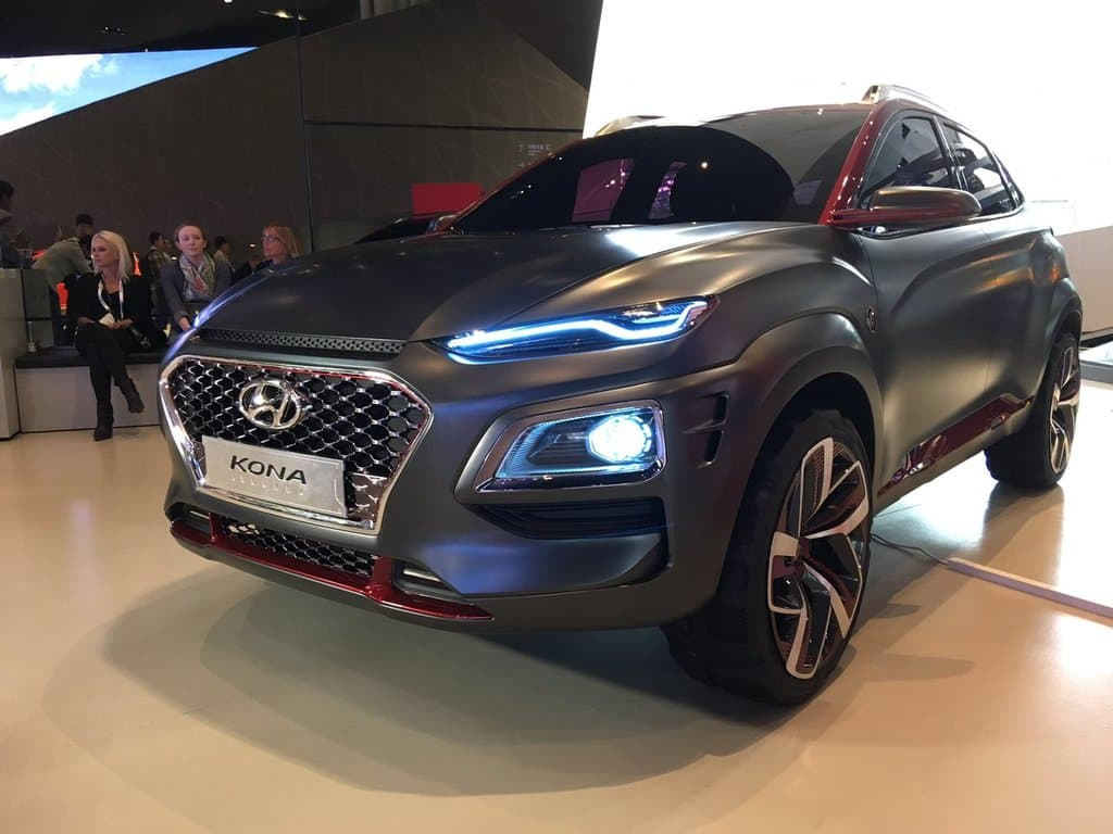 Hyundai Kona SUV Officially Revealed