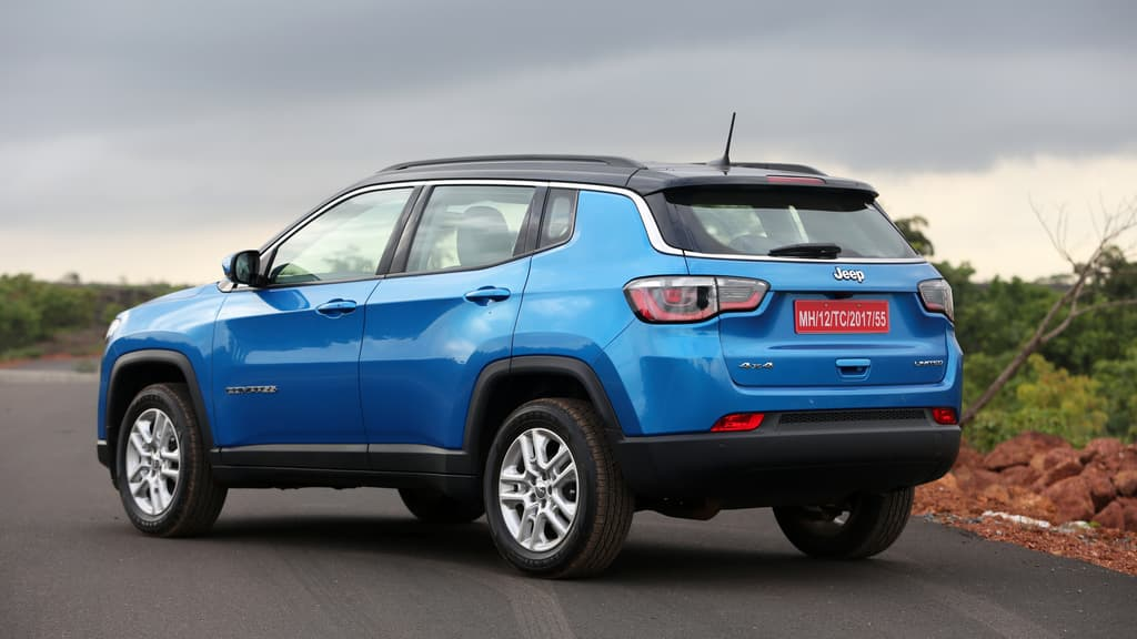 Official Jeep Compass Bookings Start at Rs 50000 in India
