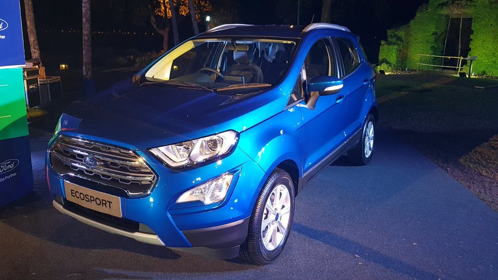 The All New Ford Ecosport Will Be Equipped With An All New   Liter Petrol Ti Vct Engine That Is Smaller Lighter Stronger And More Efficient Than The