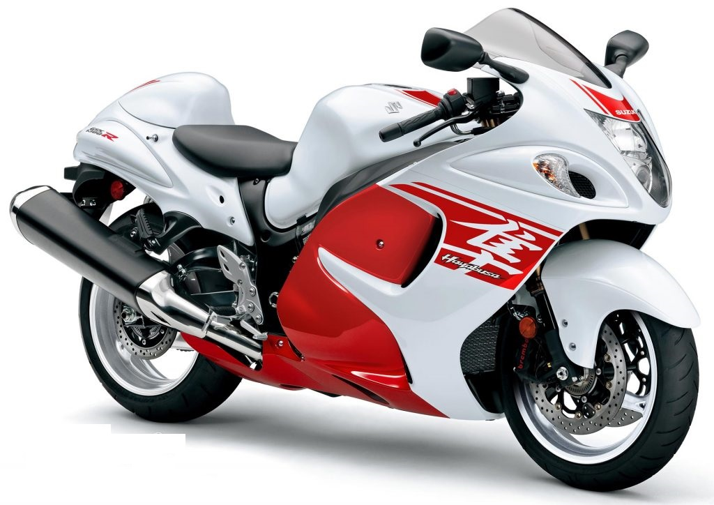 2018 Suzuki Hayabusa gets red-white paint scheme - AutoPortal