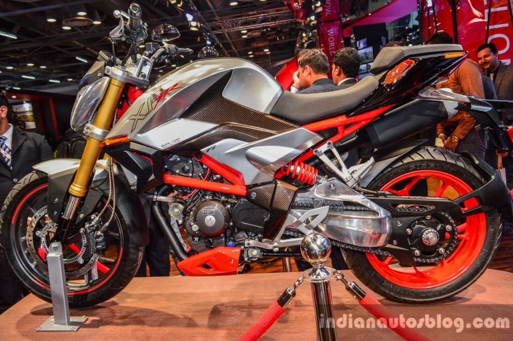 Heros New 300cc Bike Nears Production, Could Debut Next Month