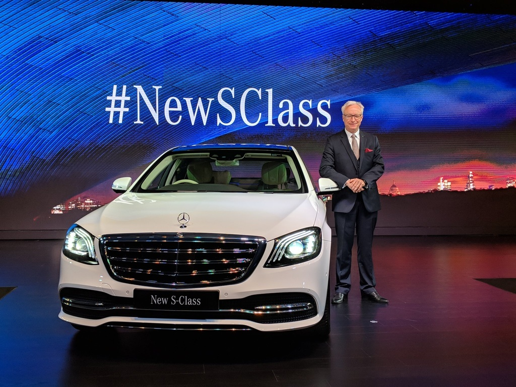 Mercedes launches new S-Class 350 d, India's first BS-VI vehicle
