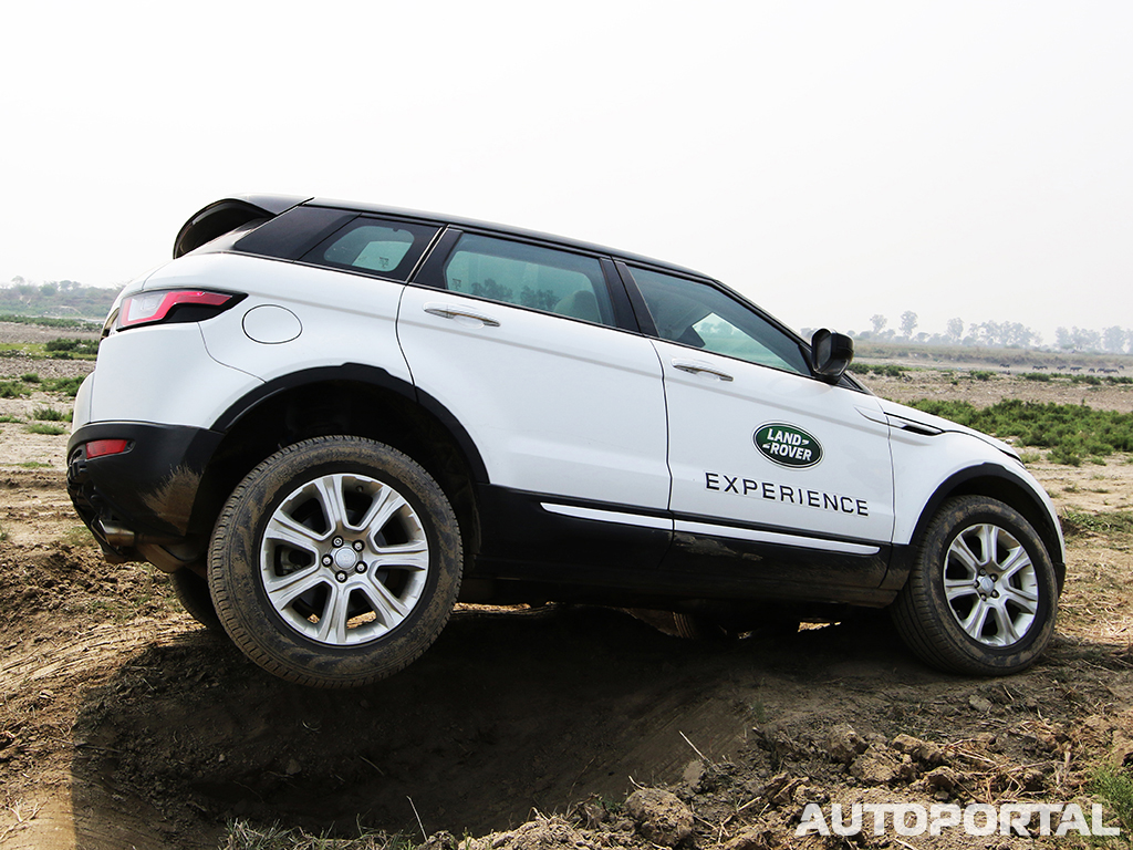 range rover evoque off road experiential with land rover autoportal. Black Bedroom Furniture Sets. Home Design Ideas
