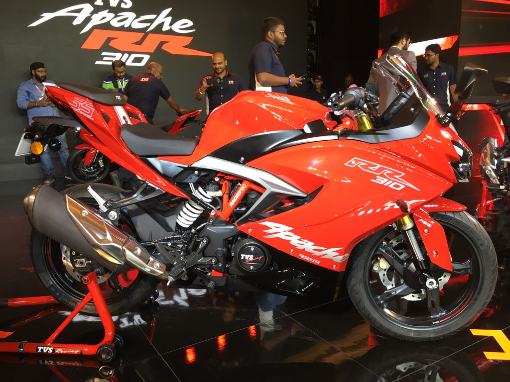 TVS Apache RR 310 Price Hiked by Rs  8000 - AutoPortal