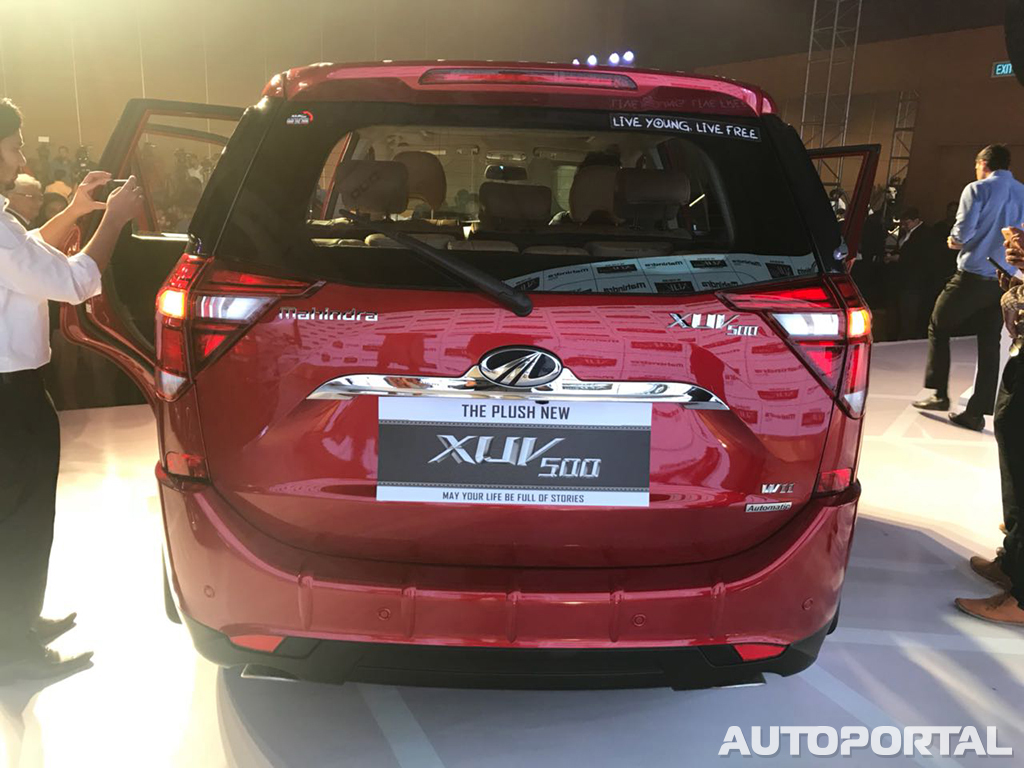 2018 Mahindra Xuv500 Facelift Launched At Rs 12 32 Lakhs Autoportal