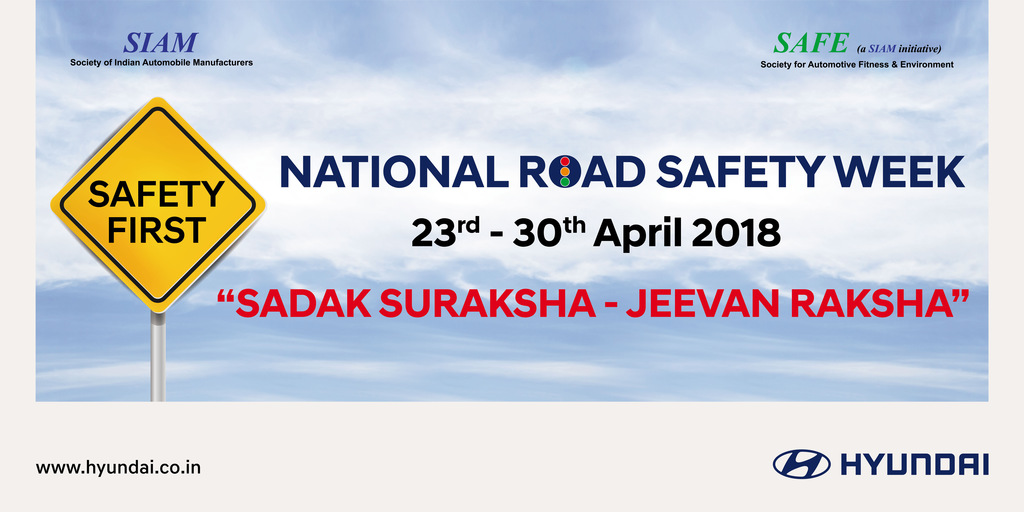 Road Safety Week kicks off in city