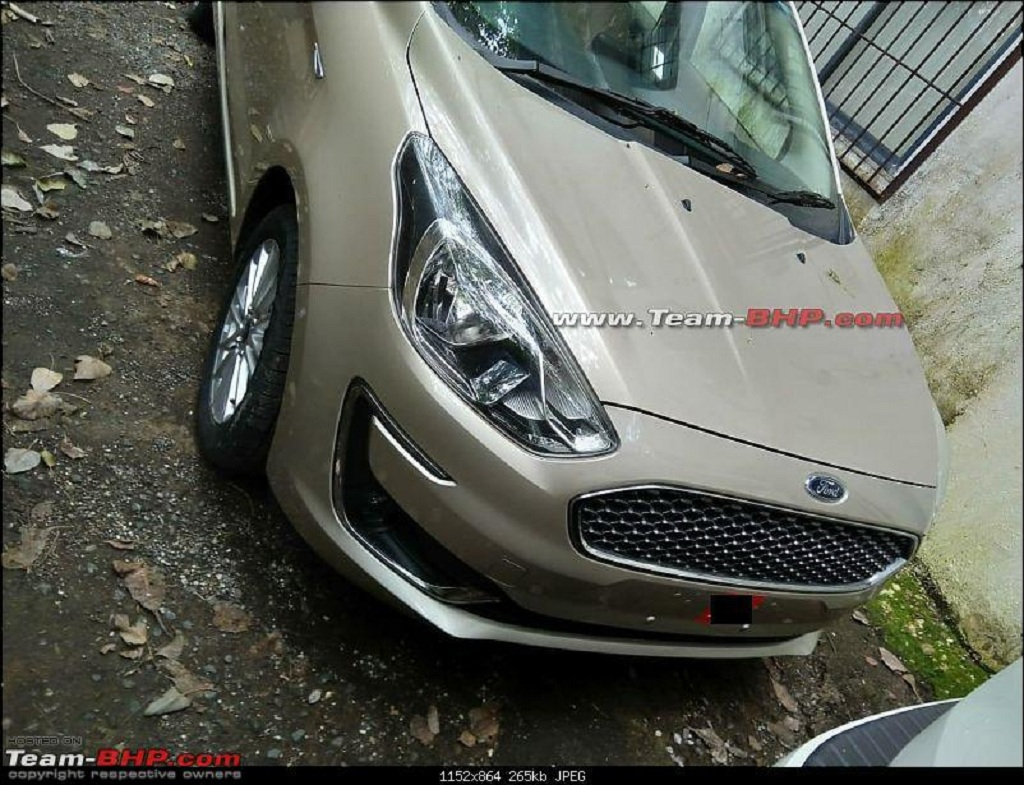 2018 ford aspire to launch on oct 4 - autoportal