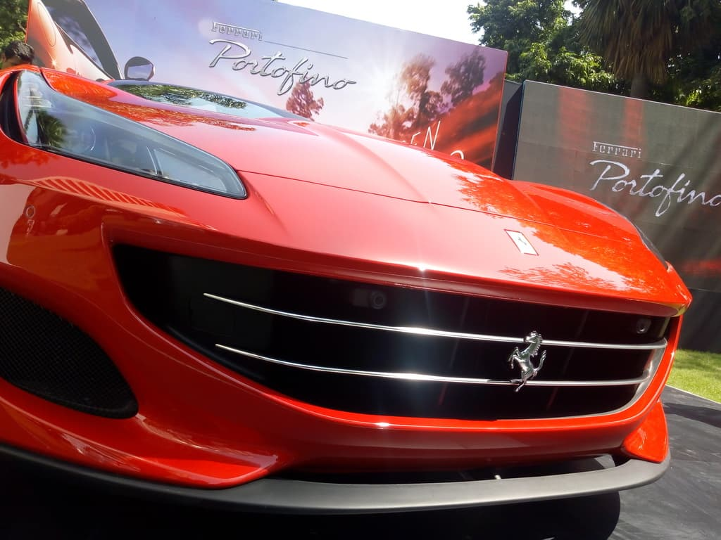 now in india: ferrari portofino - the prettiest production car in