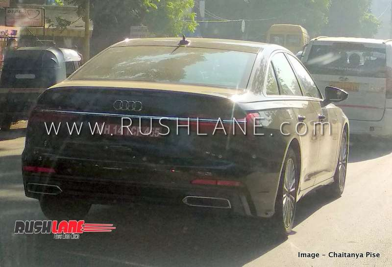 Soon To Launch New Audi A6 Spied In India Autoportal