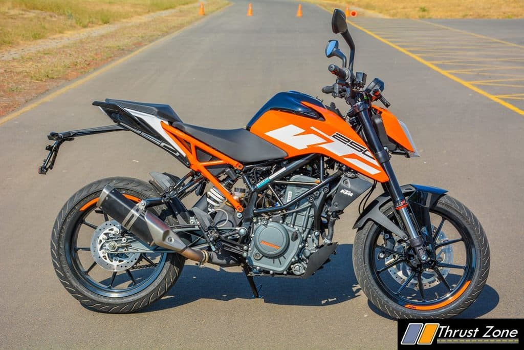 KTM Duke 250 ABS goes live on its website prior to launch