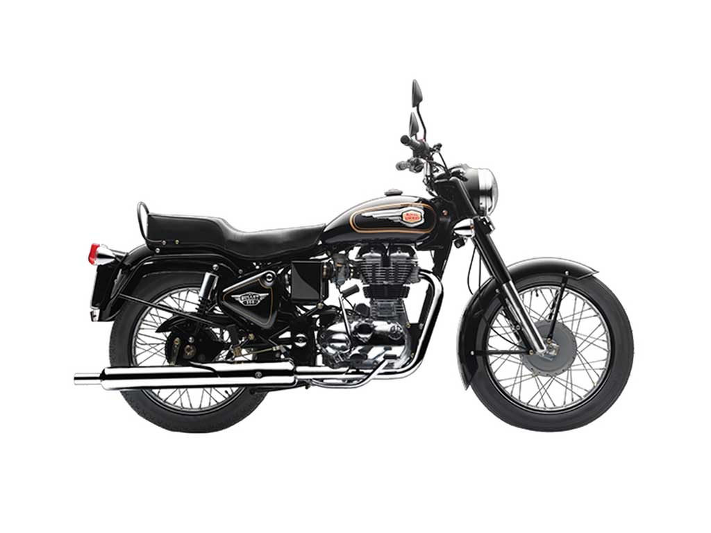 Royal Enfield Bullet rear disc model launch price at Rs 1 28