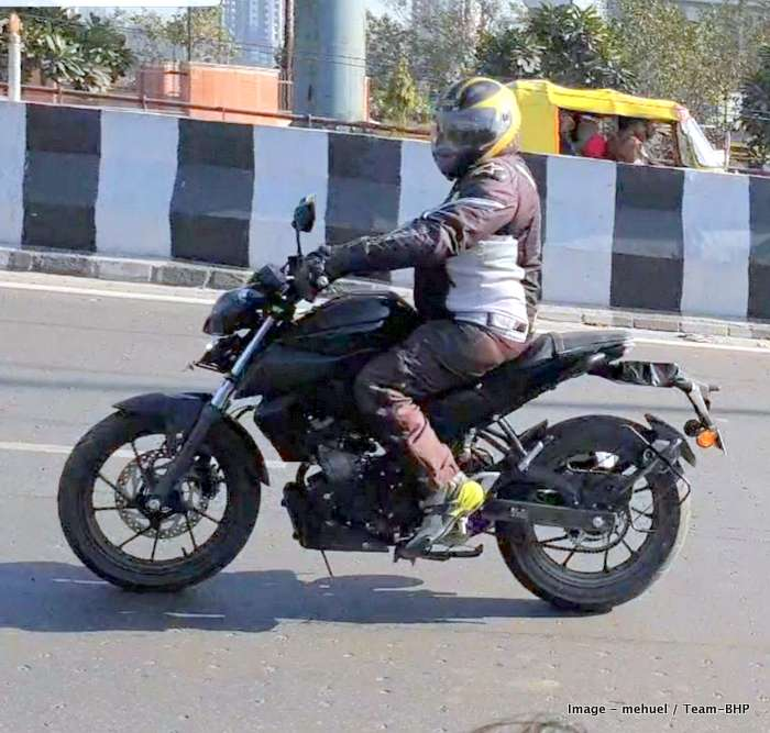 Scoop! Yamaha MT15 spotted testing in India EDIT: Now