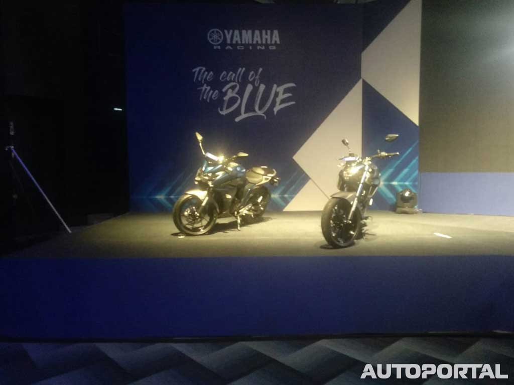 2019 Yamaha FZ 3 0 series launched with ABS - AutoPortal | Blue core