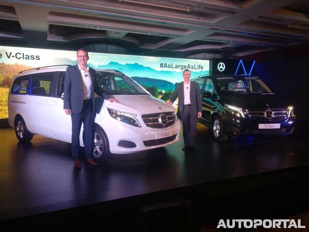 Mercedes-Benz V-Class launched at Rs 68 40 lakhs in India