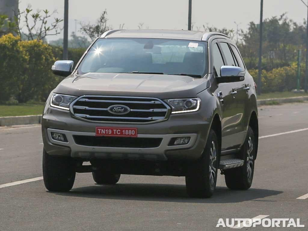 2019 Ford Endeavour Accessories Price List Revealed