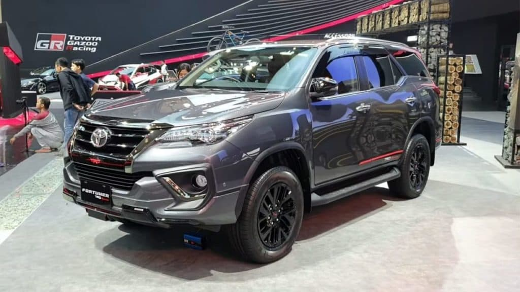 2019 Toyota Fortuner Trd Sportivo Emerges In A New Avatar