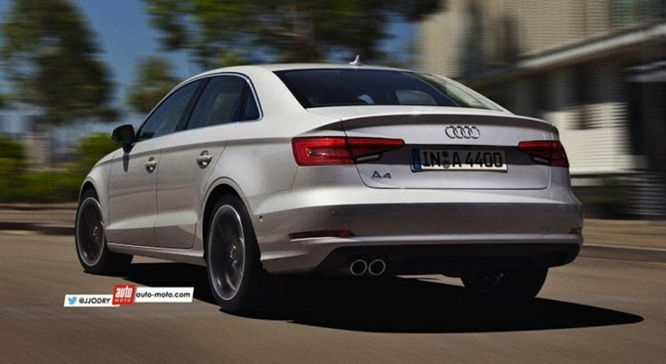 Rendering India Bound 2016 Audi A4 Autoportal