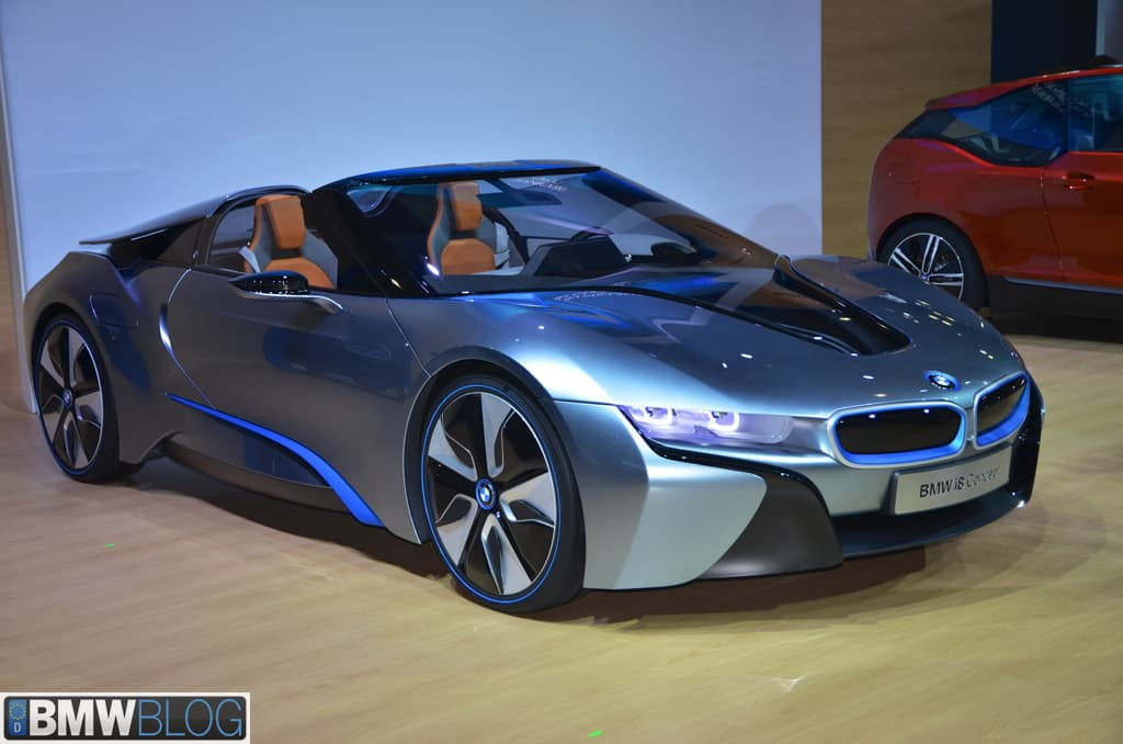 Bmw I8 Roadster Coming In 2018 Autoportal